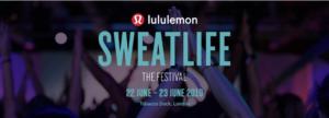 Lululemon Sweatlife 2019 Tickets